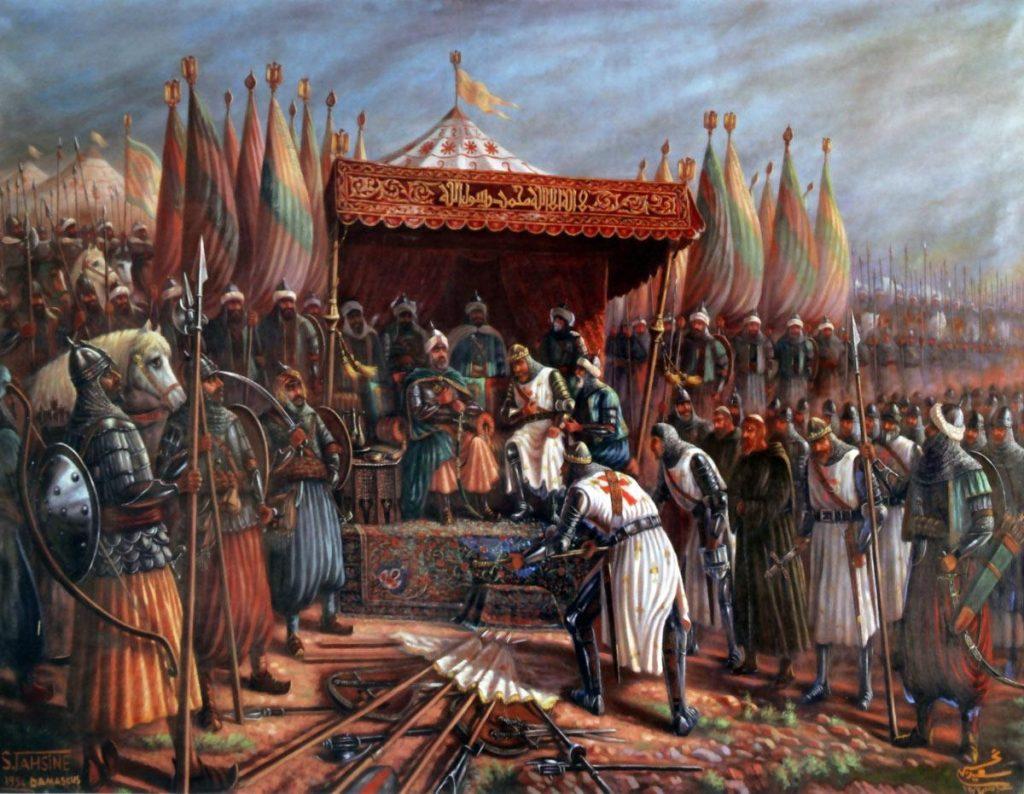 صلاح الدين يوسف بن أيوب در کافه کتاب